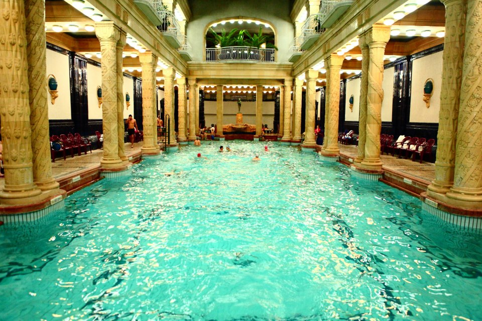 Budapest ou les meilleurs bains thermaux du monde !